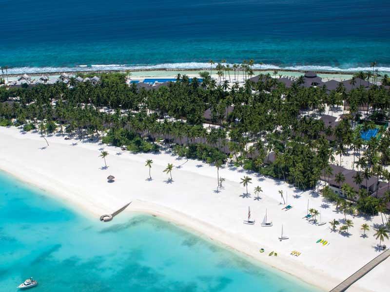 Maldives - Atmosphere Kanifushi - Vue aérienne