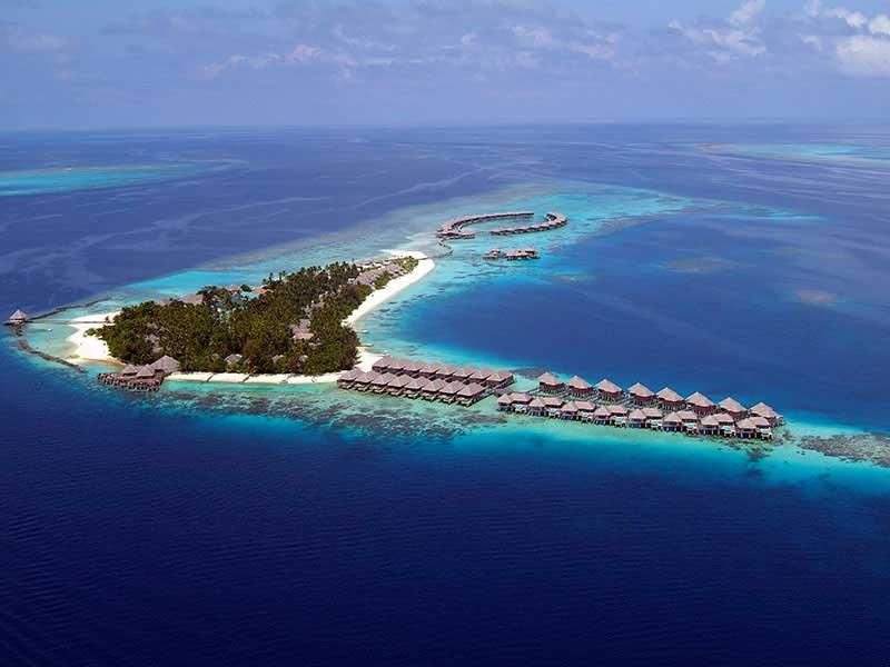 Maldives - Coco Bodu Hithi - Vue aérienne