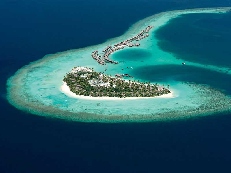 Maldives - Constance Halaveli Maldives - Vue aérienne