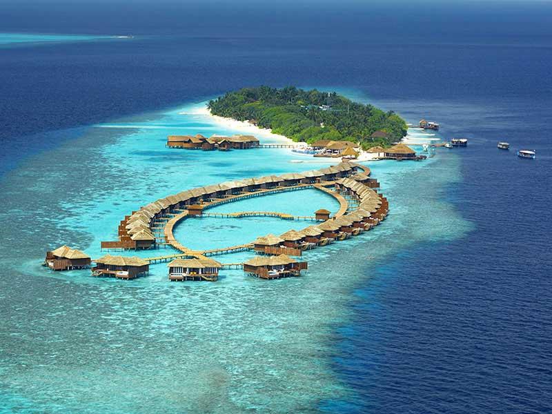 Maldives - Lily Beach Resort & Spa - Vue aérienne