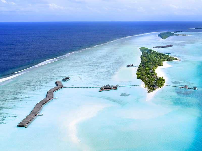 Maldives - LUX* South Ari Atoll Resort & Villas - Vue aérienne